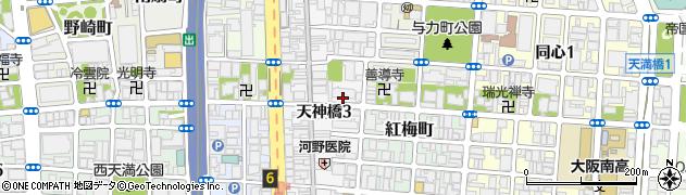 日商岩井南森町マンション周辺の地図