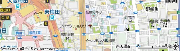 善覺寺周辺の地図