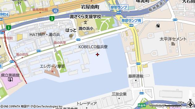 〒657-0855 兵庫県神戸市灘区摩耶海岸通の地図