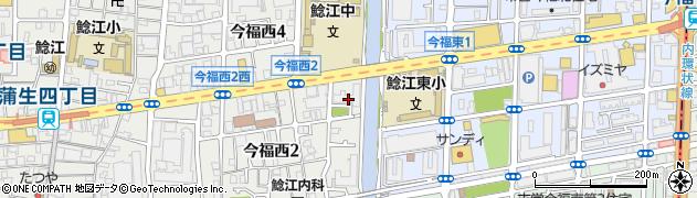 日商岩井城北ハイツ周辺の地図
