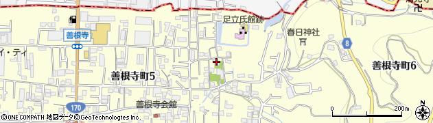 即得寺周辺の地図