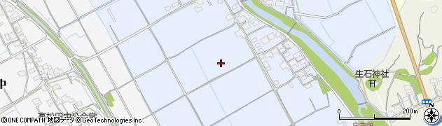 岡山県岡山市北区下土田周辺の地図