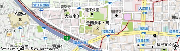 素戔嗚尊神社周辺の地図