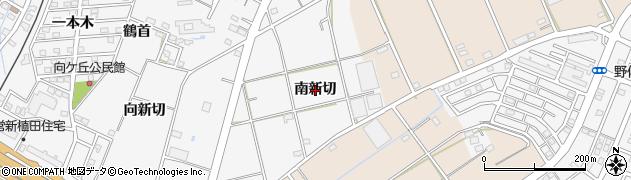 愛知県豊橋市植田町(南新切)周辺の地図