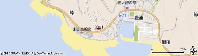 愛知県南知多町(知多郡)豊浜(泊り)周辺の地図
