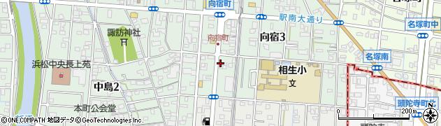イザック(IZACK)向宿周辺の地図