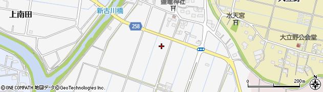 静岡県磐田市西之島周辺の地図