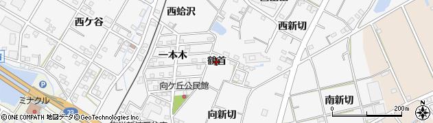 愛知県豊橋市植田町(鶴首)周辺の地図