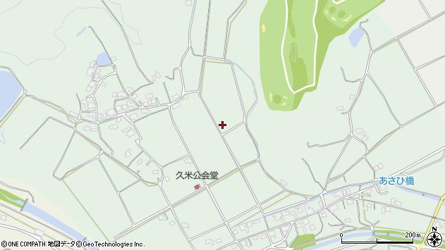 〒719-1104 岡山県総社市久米の地図