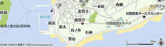 愛知県南知多町(知多郡)日間賀島(石神)周辺の地図