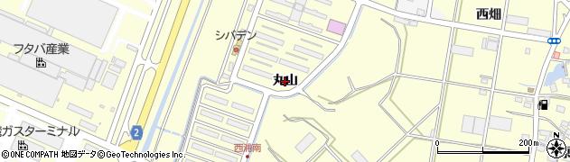 愛知県田原市浦町(丸山)周辺の地図