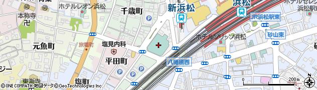 中ノ庄周辺の地図