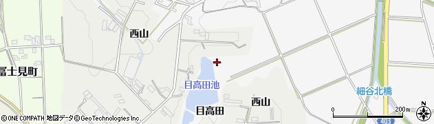 愛知県豊橋市細谷町(目高田)周辺の地図