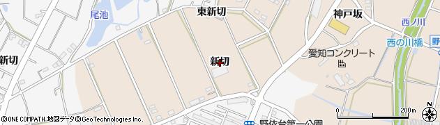 愛知県豊橋市野依町(新切)周辺の地図