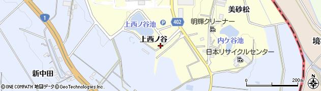 愛知県豊橋市原町(上西ノ谷)周辺の地図
