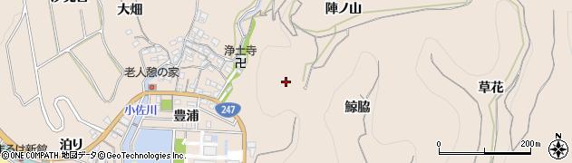 愛知県南知多町(知多郡)豊浜(郷田)周辺の地図