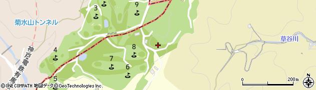 兵庫県神戸市兵庫区烏原町(ヌク谷)周辺の地図