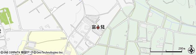 愛知県豊橋市天伯町(富士見)周辺の地図