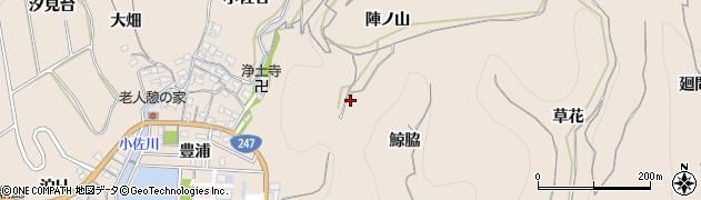 愛知県南知多町(知多郡)豊浜(鯨脇)周辺の地図