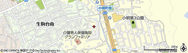 スコーレ東生駒周辺の地図