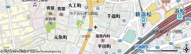 パブレスト へっぷばーん周辺の地図