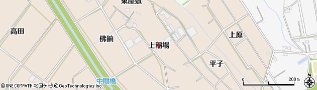 愛知県豊橋市野依町(上稲場)周辺の地図