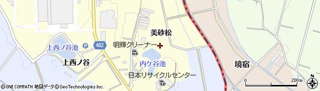 愛知県豊橋市原町(美砂松)周辺の地図