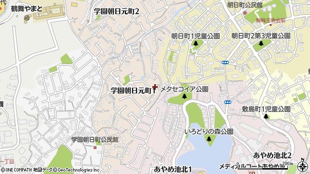 〒631-0015 奈良県奈良市学園朝日元町の地図