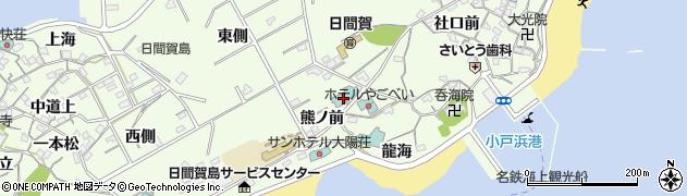 浦島周辺の地図