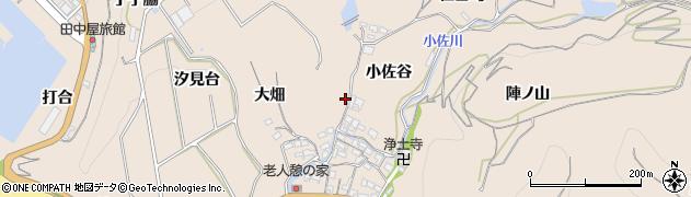 愛知県南知多町(知多郡)豊浜(大城)周辺の地図
