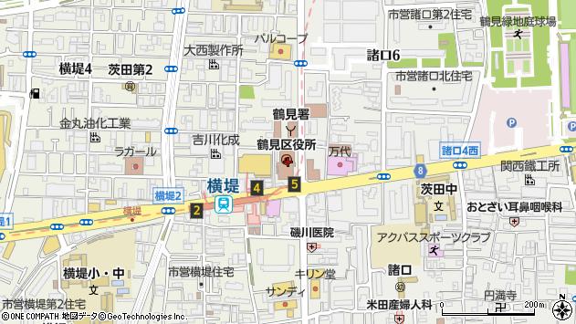 大阪 市 鶴見 区 郵便 番号