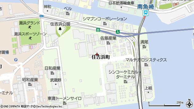 〒658-0042 兵庫県神戸市東灘区住吉浜町の地図