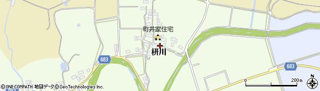 三重県伊賀市枅川周辺の地図