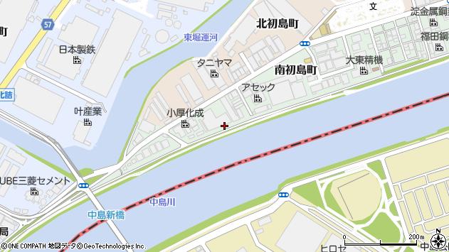 〒660-0833 兵庫県尼崎市南初島町の地図