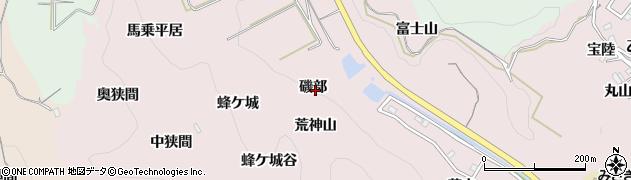 愛知県南知多町(知多郡)師崎(磯部)周辺の地図