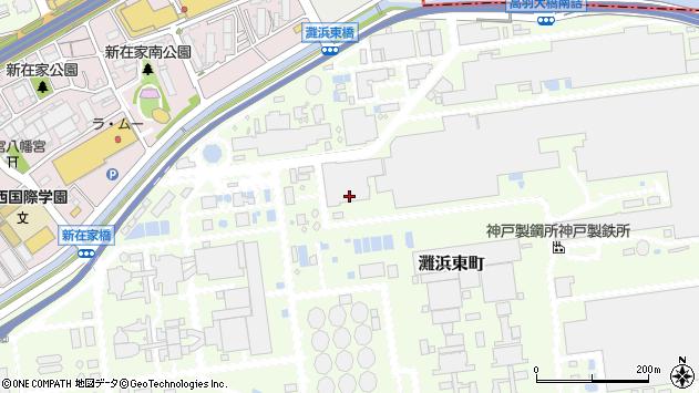 〒657-0863 兵庫県神戸市灘区灘浜東町の地図