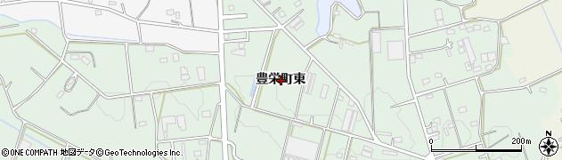 愛知県豊橋市豊栄町(東)周辺の地図