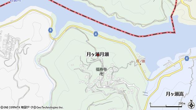 〒630-2305 奈良県奈良市月ヶ瀬月瀬の地図