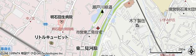 兵庫県明石市二見町(東二見河原)周辺の地図