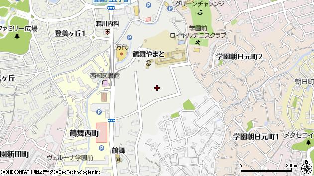 〒631-0021 奈良県奈良市鶴舞東町の地図