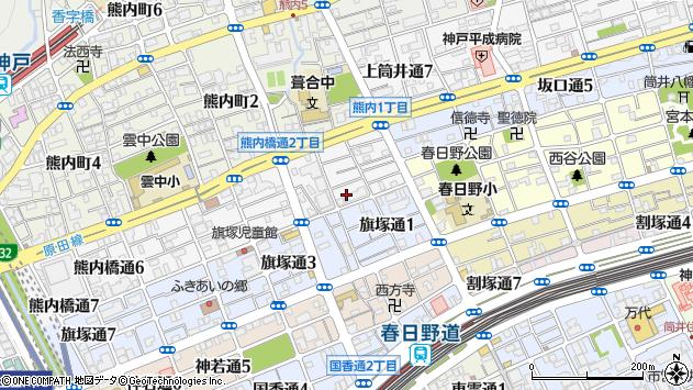 〒651-0055 兵庫県神戸市中央区熊内橋通の地図