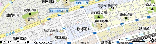 デュオプレステージ新神戸熊内レジデンス周辺の地図
