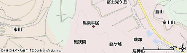 愛知県南知多町(知多郡)師崎(馬乗平居)周辺の地図