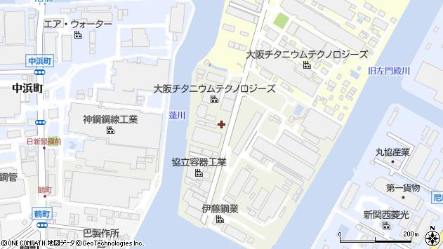 〒660-0844 兵庫県尼崎市東浜町の地図