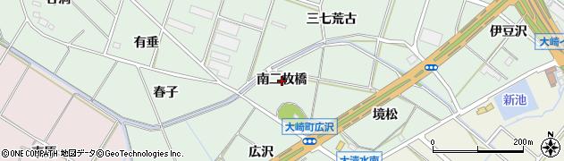 愛知県豊橋市大崎町(南二枚橋)周辺の地図