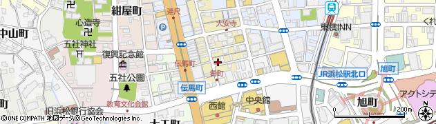 D‐time周辺の地図