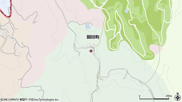 〒630-1121 奈良県奈良市園田町の地図