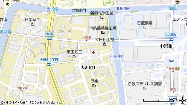 〒660-0095 兵庫県尼崎市大浜町の地図