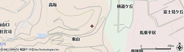 愛知県南知多町(知多郡)豊浜(東山)周辺の地図