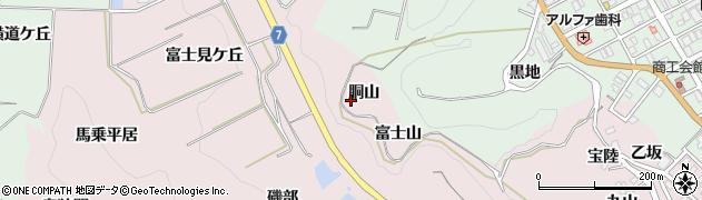 愛知県南知多町(知多郡)師崎(胴山)周辺の地図